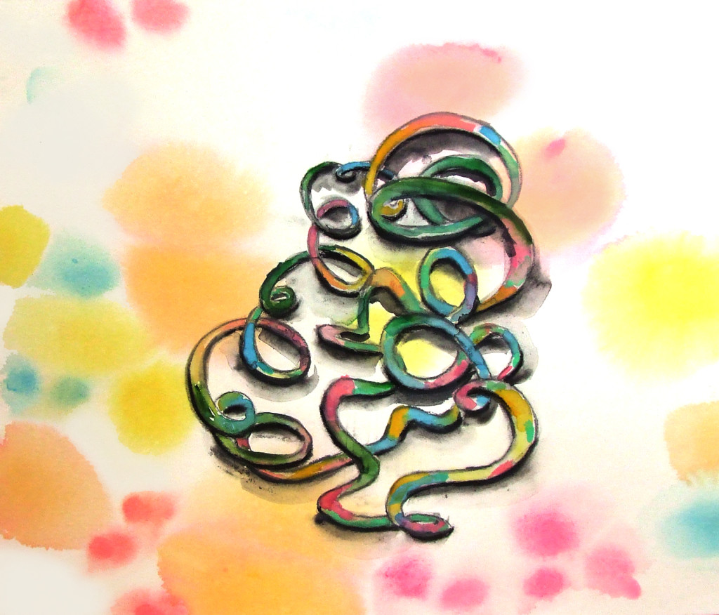 Snake Eve Hennessa Work on Paper